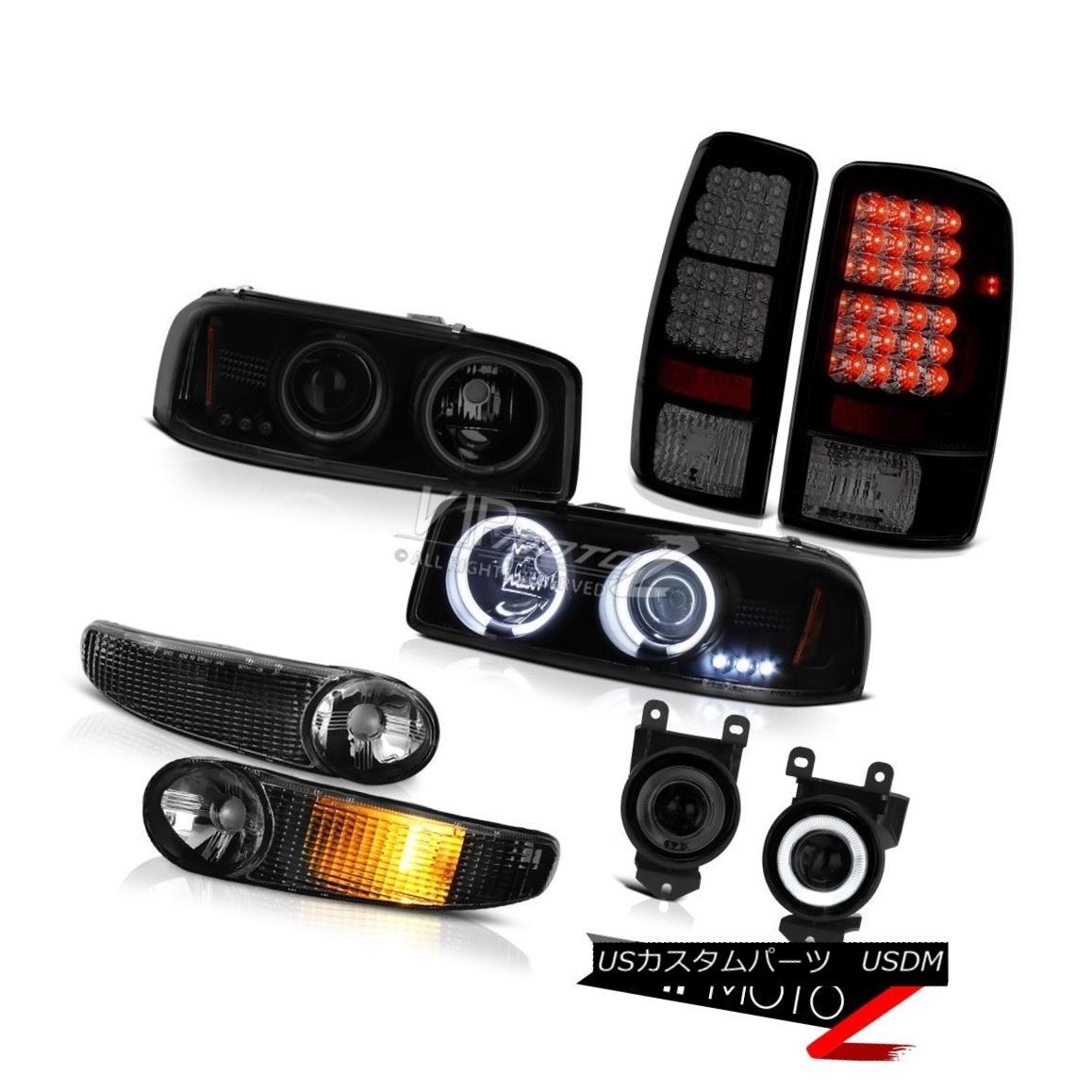 ヘッドライト Bumper LED Tail Light Fog 01 02 03 04 05 06 GMC Denali CCFL Halo DRL Headlamp バンパーLEDテールライトフォグ01 02 03 04 05 06 GMCデナリCCFLハローDRLヘッドランプ