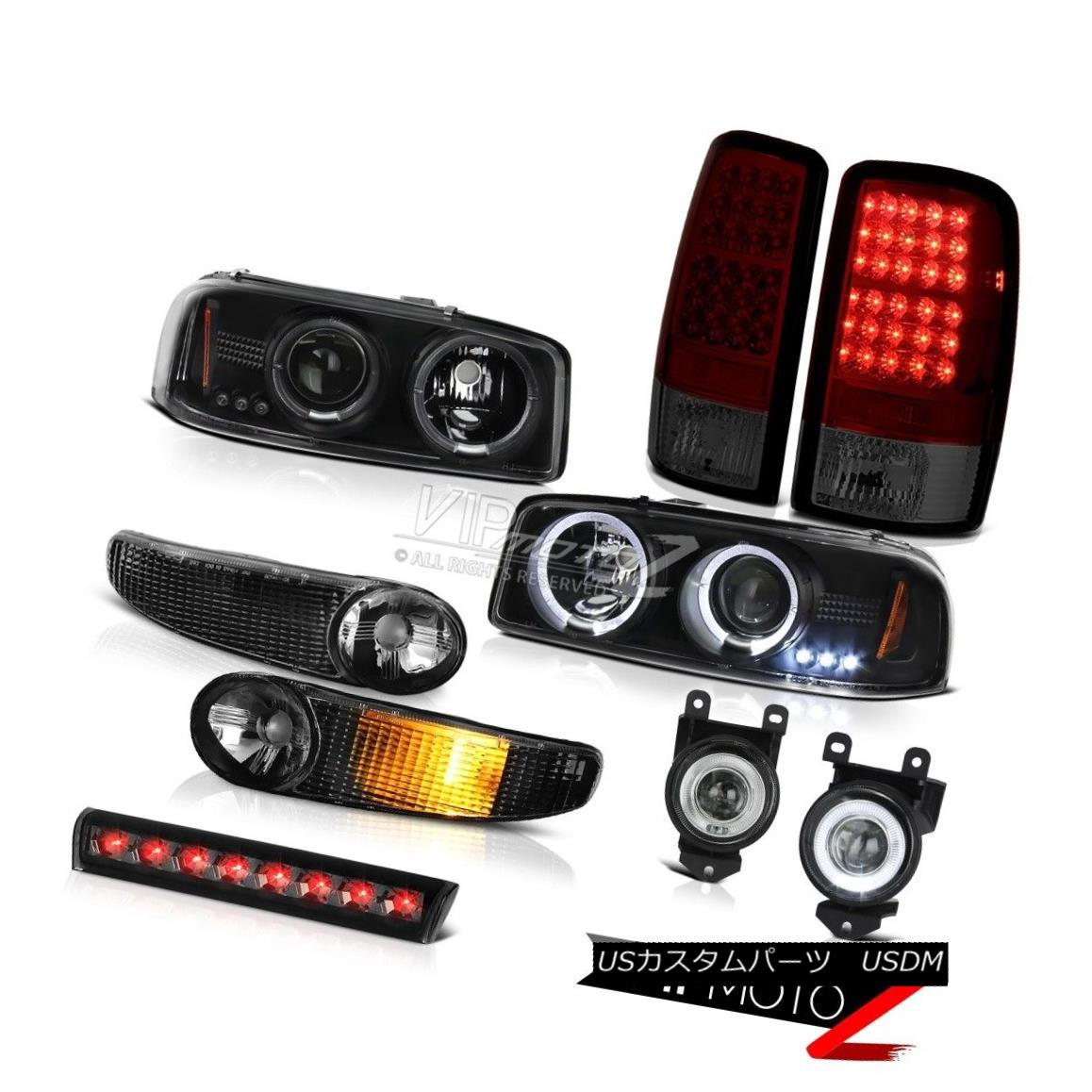 ヘッドライト LED Headlights Bumper Tail Lights Driving FogLamp Smoke 01-06 Yukon XL Denali LEDヘッドライトバンパーテールライトドライビングフォグランプスモーク01-06ユーコンXLデナリ