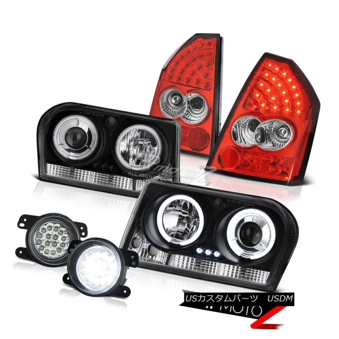 ヘッドライト 2005-2007 Chrysler 300 2.7L Halo Headlights LED Signal Tail Lights Surface Fog 2005-2007 Chrysler 300 2.7L HaloヘッドライトLEDシグナルテールライト表面フォグ