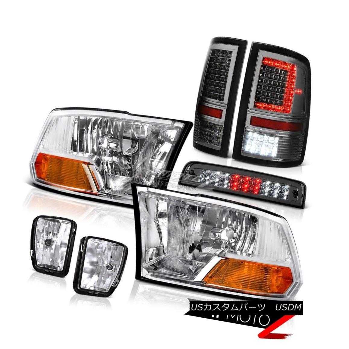 ヘッドライト 13 14 15 16 17 RAM 1500 Tail Lights Third Brake Light Fog Factory Style Headlamp 13 14 15 16 17 RAM 1500テールライト第3ブレーキライトフォ