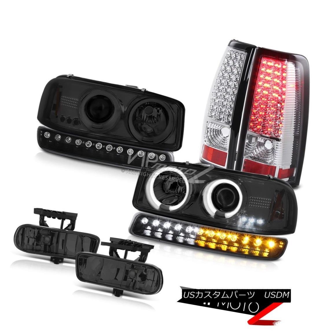 ヘッドライト 99 00 01 02 Sierra SL Fog lamps rear led brake parking lamp ccfl Headlights LED 99 00 01 02 Sierra SLフォグランプリア・ブレーキ・パーキング・ランプccflヘッドライトLED