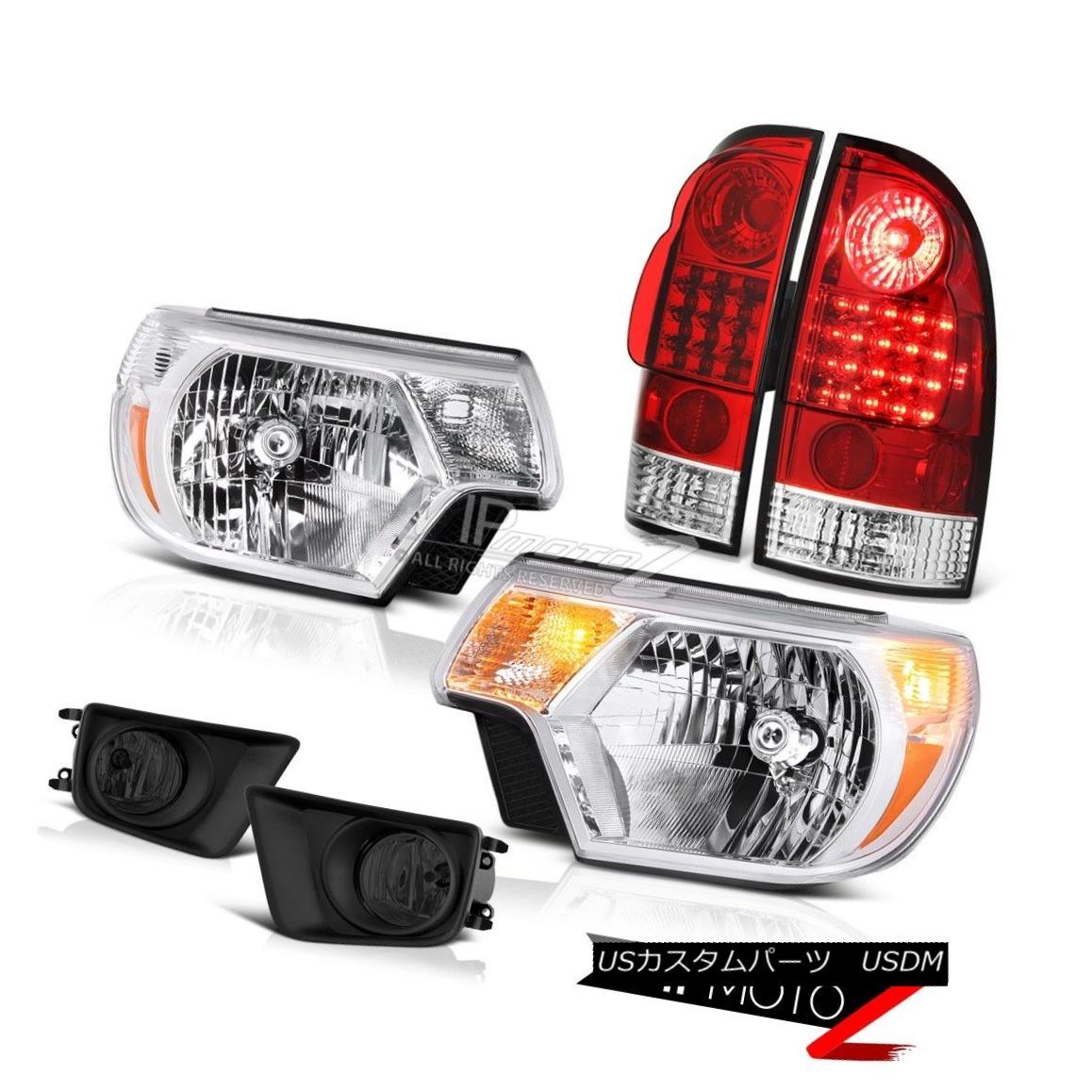 ヘッドライト 2012-2015 Toyota Tacoma 4X4 Fog lights headlights tail lamps Factory Style SMD 2012-2015トヨタタコマ4X4フォグライトヘッドライトテールランプ工場スタイルSMD