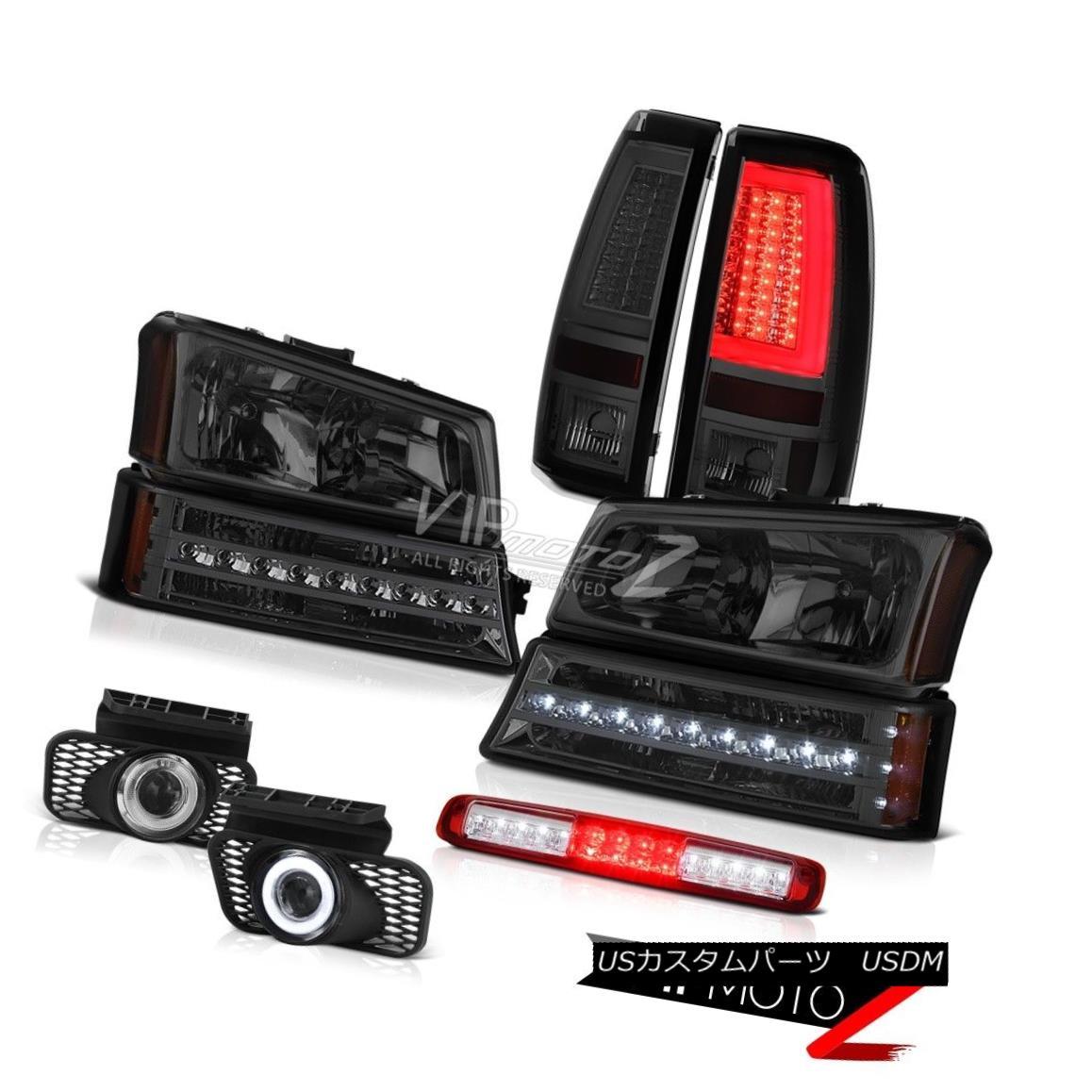 ヘッドライト 03-06 Silverado Taillamps Roof Brake Light Headlights Foglamps Bumper Neon Tube 03-06 Silverado Taillampsルーフブレーキライトヘッドライトフォグランプバンパーネオンチューブ