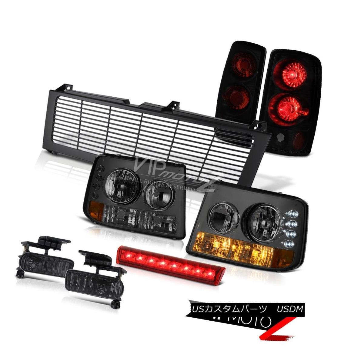 ヘッドライト Headlamps 00-06 Tahoe Altezza Darkest Tail Light Fog High Brake LED Black Grille ヘッドランプ00-06タホ・アルテッツァダークテール・ライト・フォグハイ・ブレーキLEDブラック・グリル