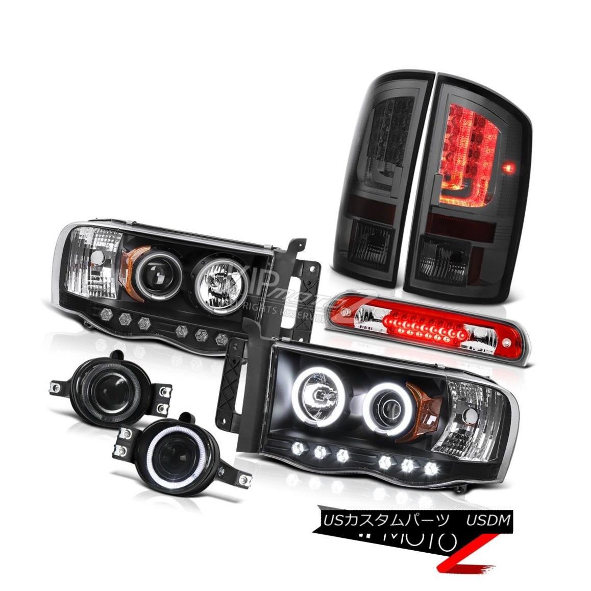 ヘッドライト 02-05 Ram 1500 2500 3500 SLT Taillights Headlights Fog Lights High STop Light 02-05 Ram 1500 2500 3500 SLTターンライトヘッドライトフォグライトHigh STOPライト