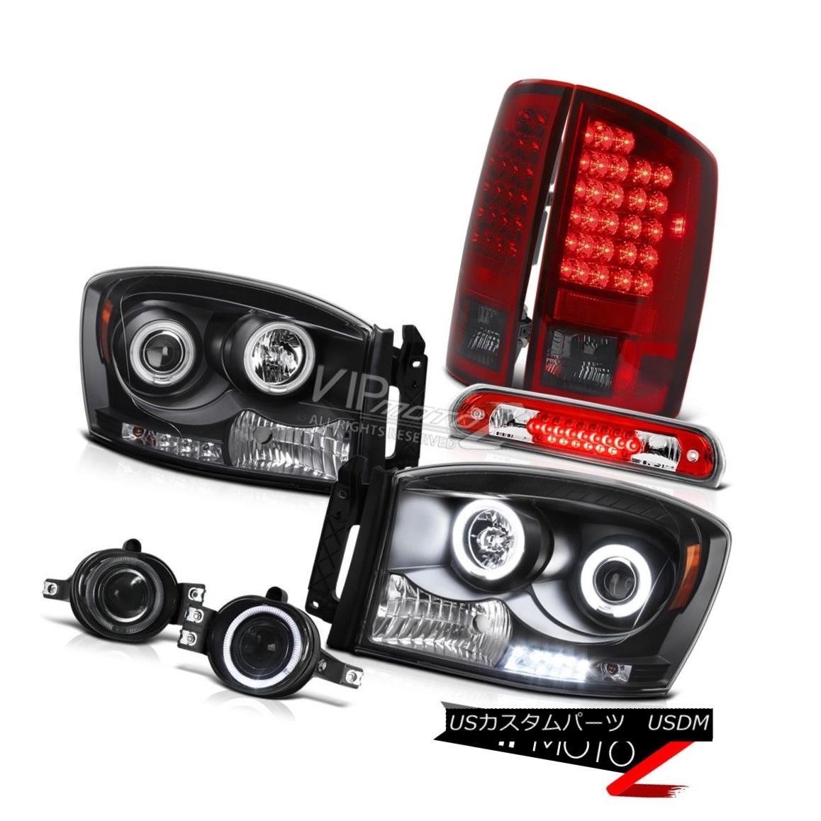 ヘッドライト DRL CCFL Ring Headlights LED Tail Lights Smoke Fog Brake 2006 Dodge Ram SRT-10 DRL CCFLリングヘッドライトLEDテールライトスモークフォグブレーキ2006 Dodge Ram SRT-10