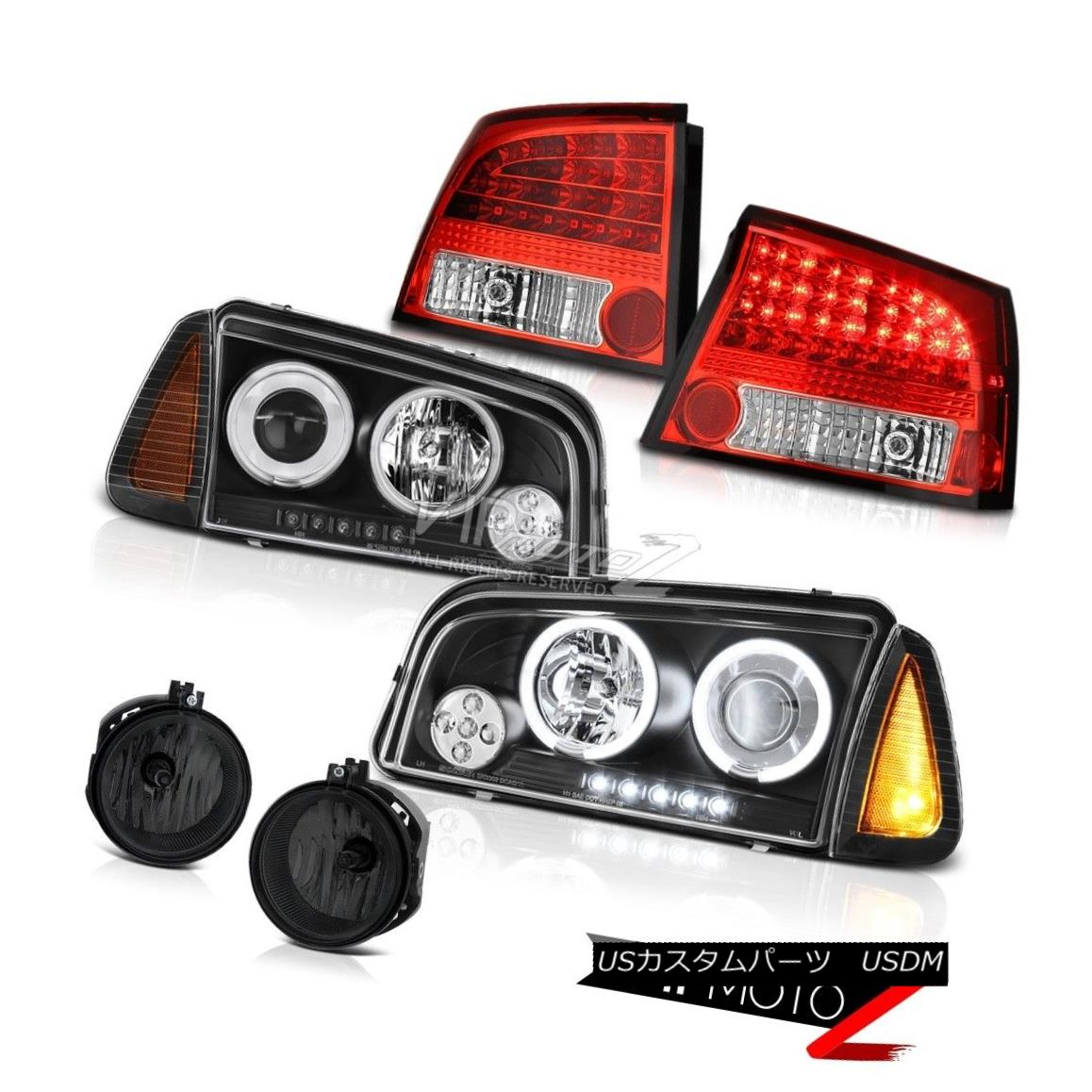 ヘッドライト 2006-2008 Dodge Charger SE Foglamps wine red tail lamps corner lamp headlights 2006-2008ダッジチャージャーSEフォグランプワインレッドテールランプコーナーランプヘッドライト