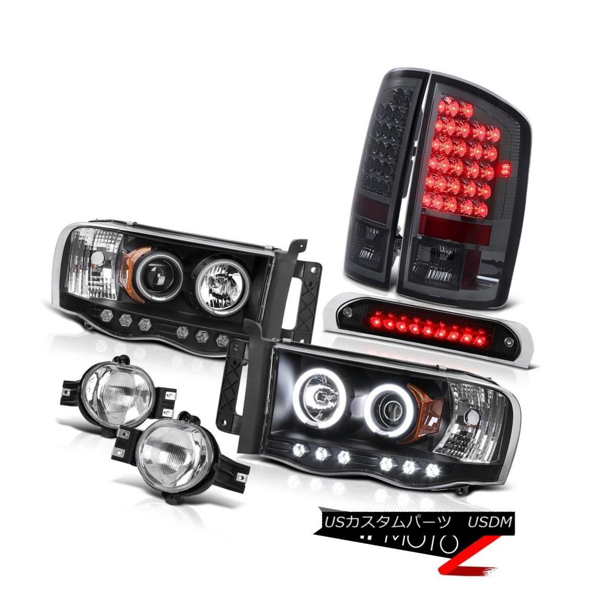 ヘッドライト 02-05 Ram TurboDiesel DRL Headlight LED Taillights Foglights Roof Brake Cargo 02-05ラムターボディーゼルDRLヘッドライトLEDテールライトフォグライトルーフブレーキカーゴ
