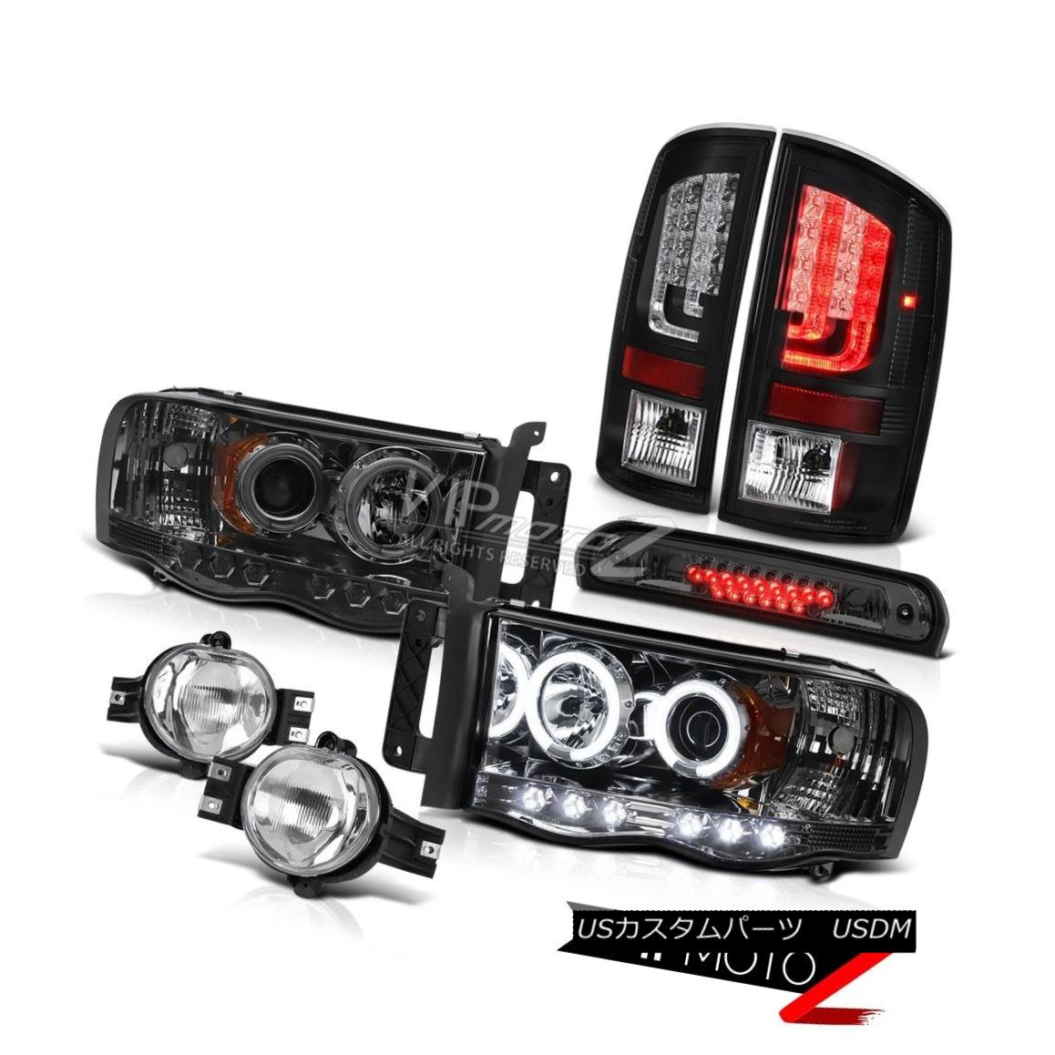 ヘッドライト 2003-2005 Dodge Ram 1500 3.7L Taillights Headlamps Fog Lamps High STop Lamp Cool 2003-2005 Dodge Ram 1500 3.7Lターンライトヘッドランプ霧ランプHigh STOPランプCool