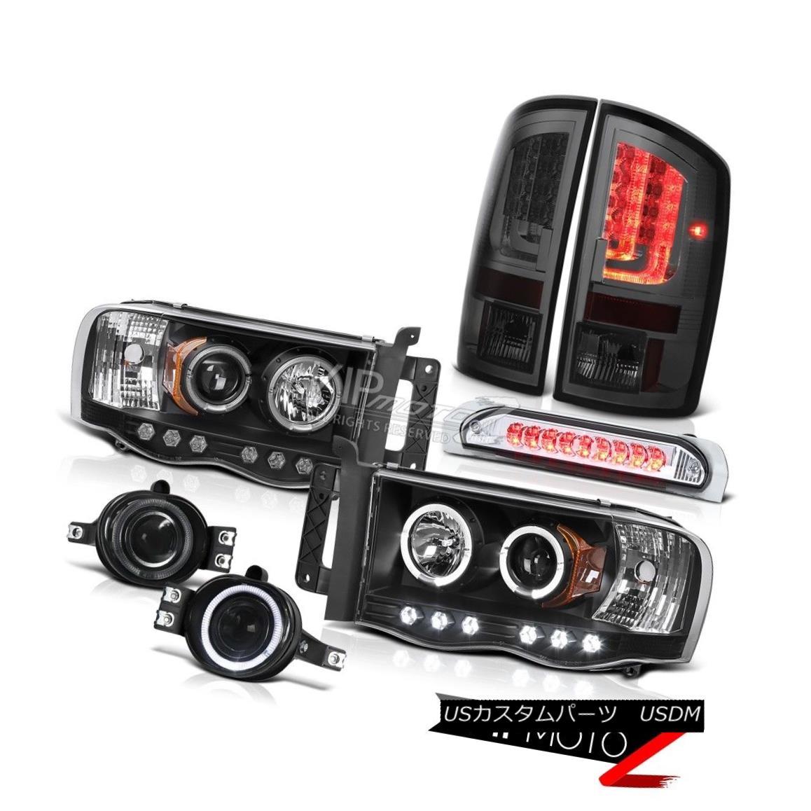 ヘッドライト 02-05 Ram 1500 2500 3500 WS Tail Lamps Headlights Fog Lights High STop Lamp LED 02-05 Ram 1500 2500 3500 WSテールランプヘッドライトフォグライトハイストップランプLED
