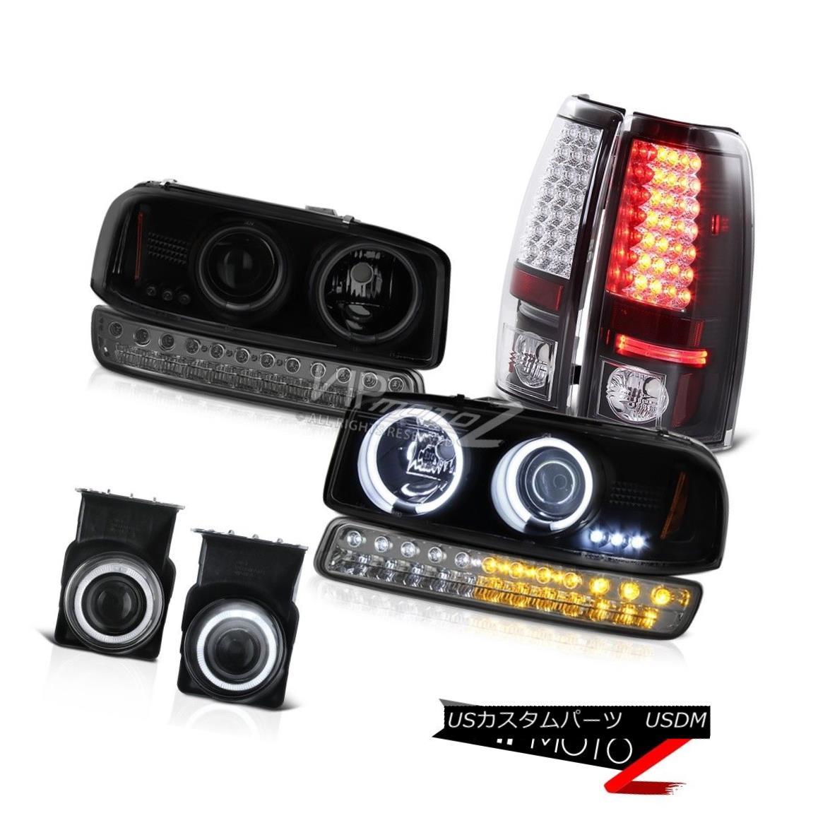 ヘッドライト 03-06 Sierra WT Fog Lamps SMD Tail Brake Lights Smokey Bumper Lamp Headlights 03-06シエラWTフォグランプSMDテールブレーキライトスモーキーバンパーランプヘッドライト