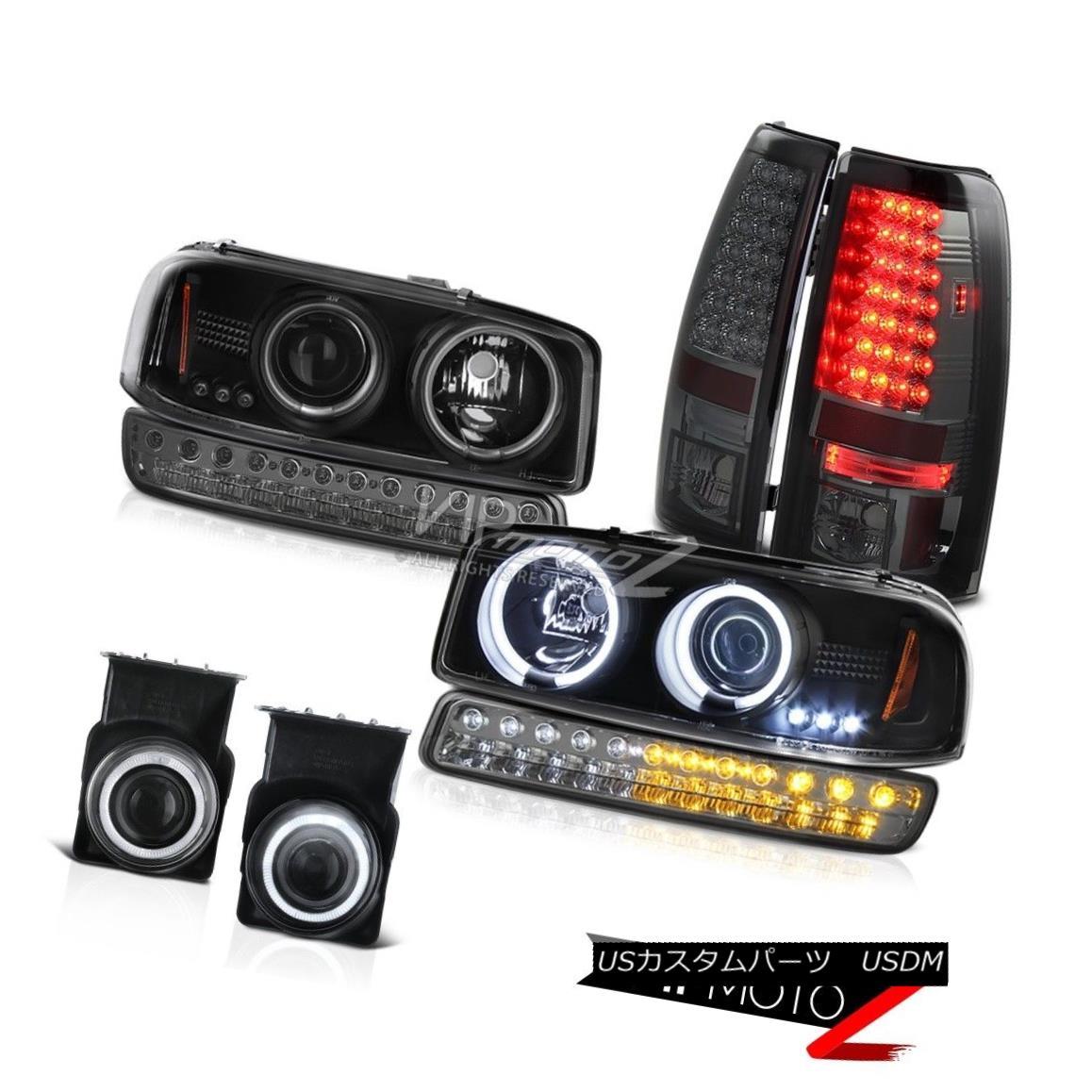 ヘッドライト 03-06 GMC Sierra Foglamps Smokey SMD Tail Lights Bumper Light CCFL Headlights 03-06 GMC Sierra FoglampsスモーキーSMDテールライトバンパーライトCCFLヘッドライト
