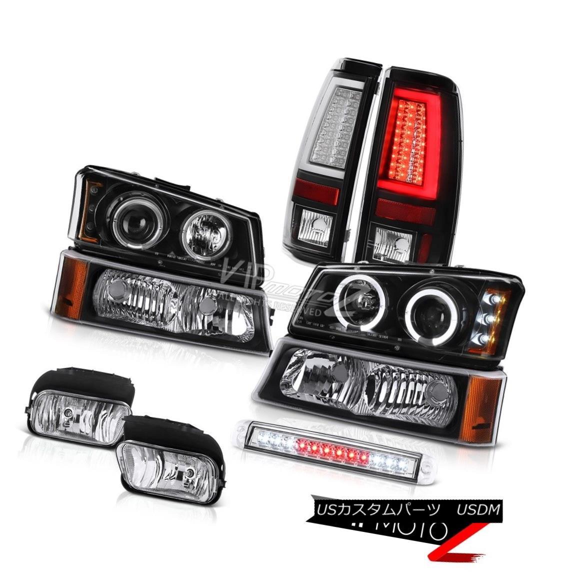 ヘッドライト 03 04 05 06 Silverado 1500 Tail Lamps Roof Cab Lamp Fog Signal Headlights LED 03 04 05 06 Silverado 1500テールランプルーフキャブランプフォグシグナルヘッドライトLED