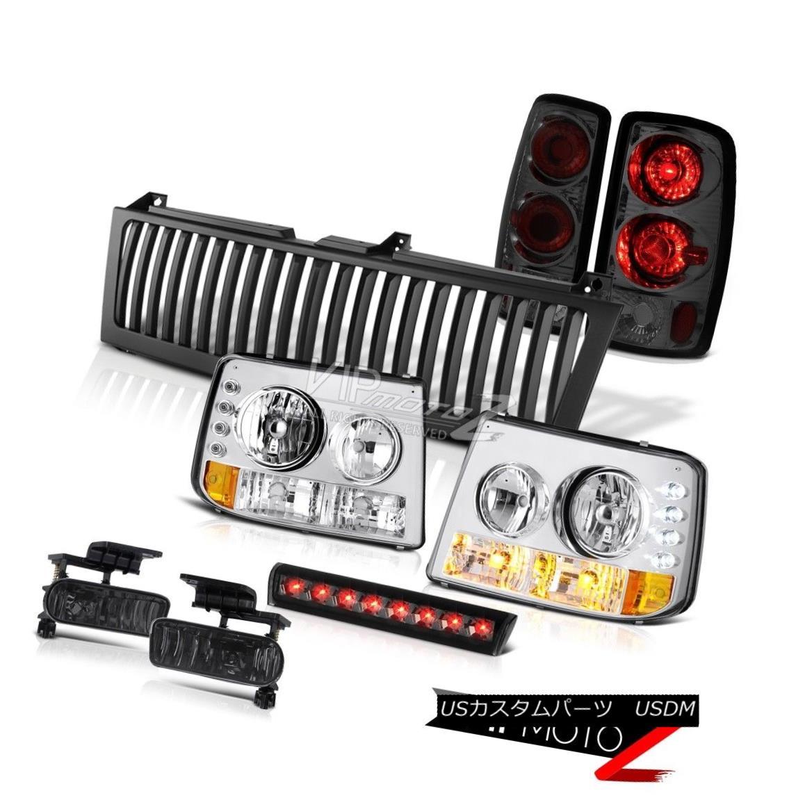 ヘッドライト Headlights Altezza Tail Lamps Smoke Fog 3rd Brake LED Black 00-06 Suburban 6.0L ヘッドライトAltezzaテールランプ煙霧第3ブレーキLED黒00-06郊外6.0L