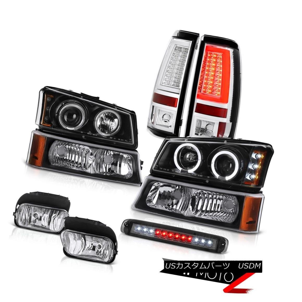 ヘッドライト 2003-2006 Silverado 2500Hd Tail Lamps 3RD Brake Light Fog Signal Lamp Headlights 2003-2006シルバラード2500Hdテールランプ3RDブレーキライトフォグ信号ランプヘッドライト