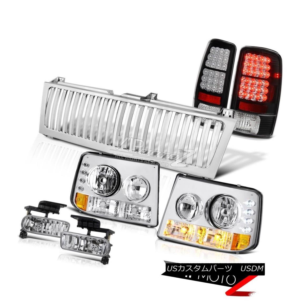 ヘッドライト 00 01 02 03 04 05 06 Suburban Headlamp Tail Lights LED Foglamps Chrome Grille 00 01 02 03 04 05 06郊外ヘッドランプテールライトLED Foglamps Chrome Grille
