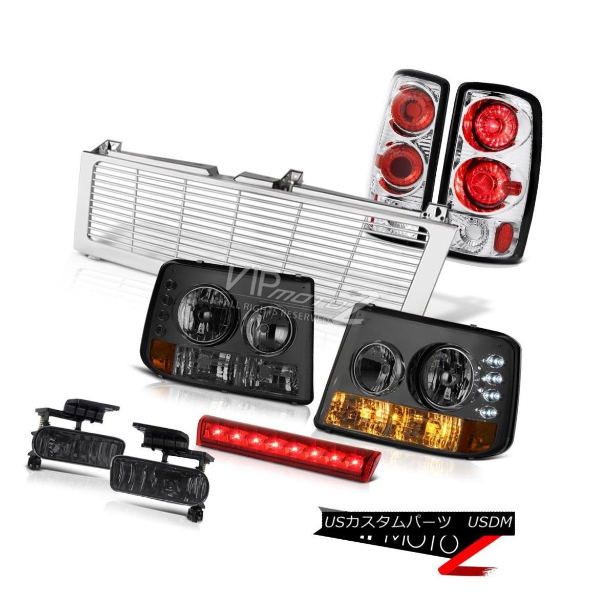 ヘッドライト Tinted Signal Headlights Clear Tail Lights Fog High Brake LED 00-06 Tahoe 5.3L 着色信号ヘッドライトクリアテールライトフォグハイブレーキLED 00-06タホー5.3L