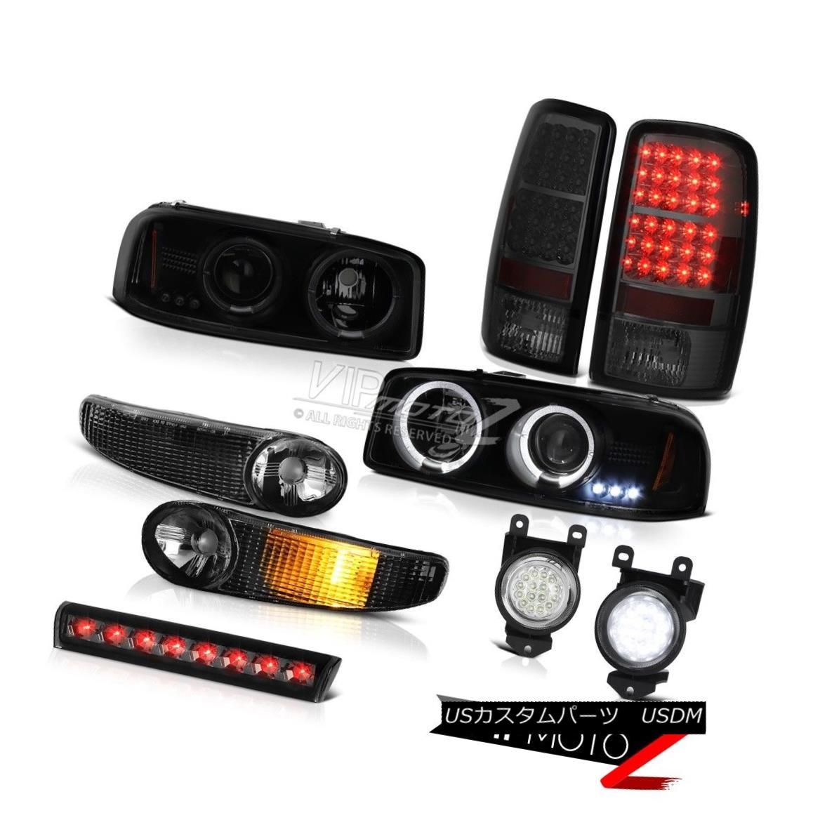 ヘッドライト Projector Headlights Bumper Tail Lights FogLamp 3rd Brake 03 04 05 06 Yukon 6.0L プロジェクターヘッドライトバンパーテールライトFogLamp 3rdブレーキ03 04 05 06ユーコン6.0L