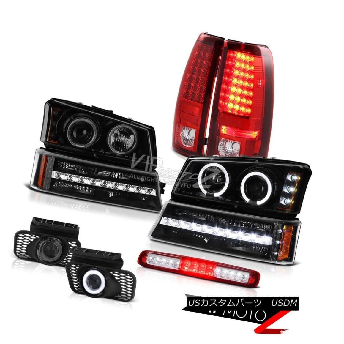 ヘッドライト 2003-2006 Silverado 1500 Red High Stop Lamp Foglights Signal Headlamps Taillamps 2003-2006 Silverado 1500レッドハイストップランプフォグライトシグナルヘッドランプタイルランプ