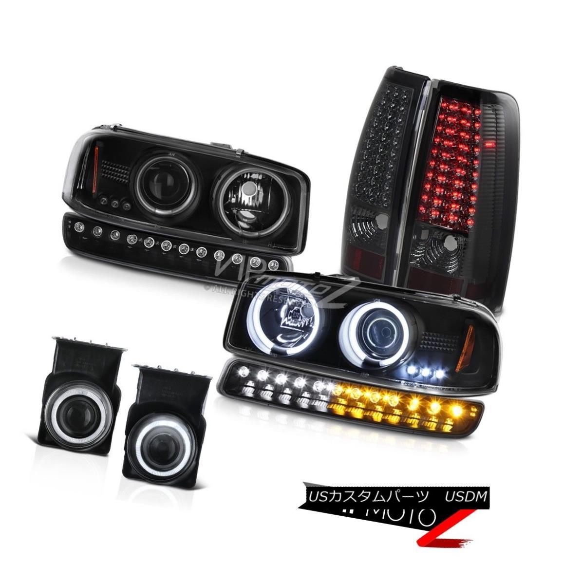 ヘッドライト 2003-2006 Sierra GMT800 Foglights led taillamps signal light ccfl headlamps LED 2003-2006シエラGMT800フォグライトはテールランプ信号ライトccflヘッドライトLEDを導いた