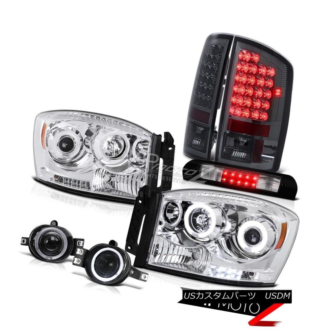 ヘッドライト CCFL Headlights Signal Tail Lights Driving Fog Roof LED 2006 Dodge Ram Magnum V8 CCFLヘッドライト信号テールライトドライビングフォグルーフLED 2006 Dodge Ram Magnum V8