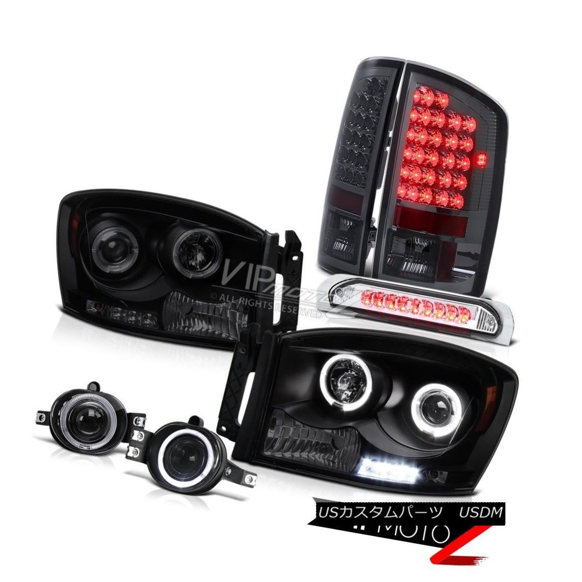ヘッドライト DODGE RAM 2006 LED Daytime Headlights Chrome Foglights 3RD Brake Lamp Taillight DODGE RAM 2006 LEDデイタイムヘッドライトクロームフォグライト3RDブレーキランプテールライト