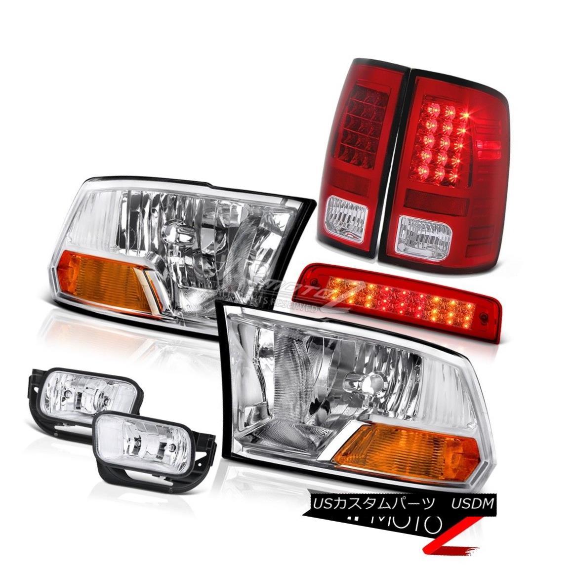 ヘッドライト 2010-2016 Ram 3500 6.4L 3RD Brake Light Fog Lights Tail Headlights SMD Assembly 2010-2016 Ram 3500 6.4L 3RDブレーキライトフォグライトテールヘッドライトSMDアセンブリ