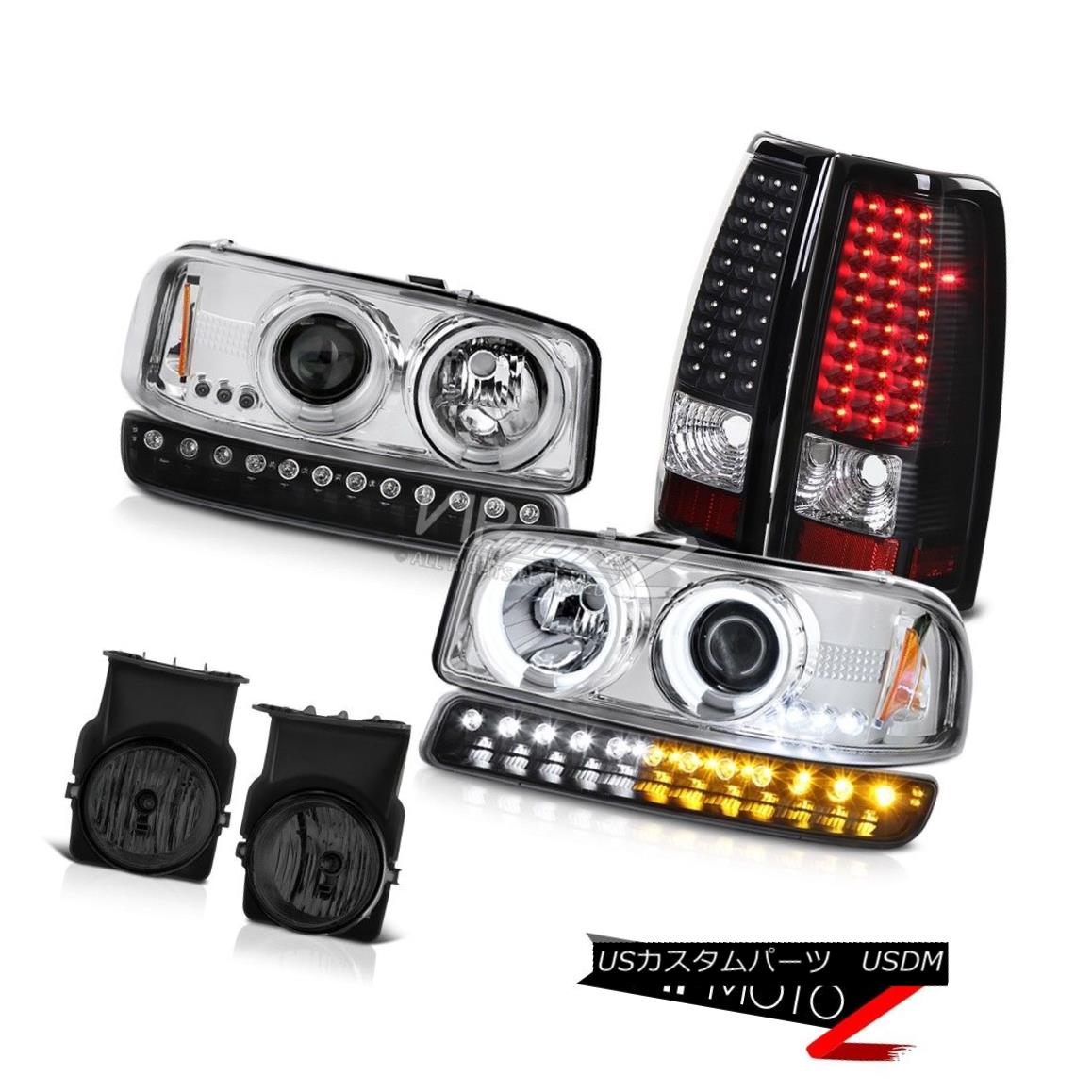 ヘッドライト 03-06 Sierra WT Foglights smd tail lamps signal lamp ccfl projector headlights 03-06シエラWTフォグライトsmdテールランプ信号ランプccflプロジェクターヘッドライト