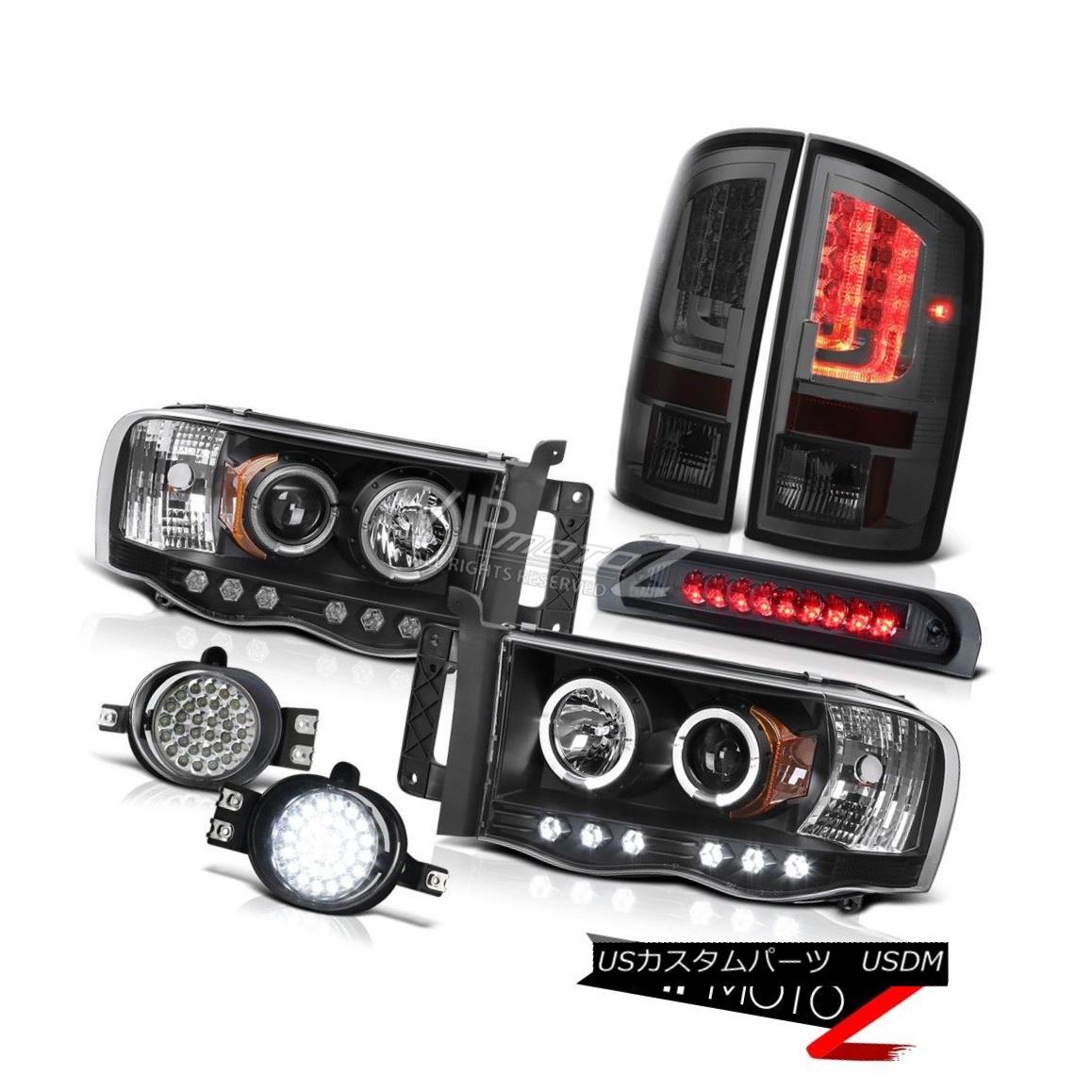 ヘッドライト 2003-2005 Dodge Ram 1500 4.7L Tail Lights Headlights Fog Lamps High STop Lamp 2003-2005 Dodge Ram 1500 4.7LテールライトヘッドライトフォグランプハイSTOPランプ