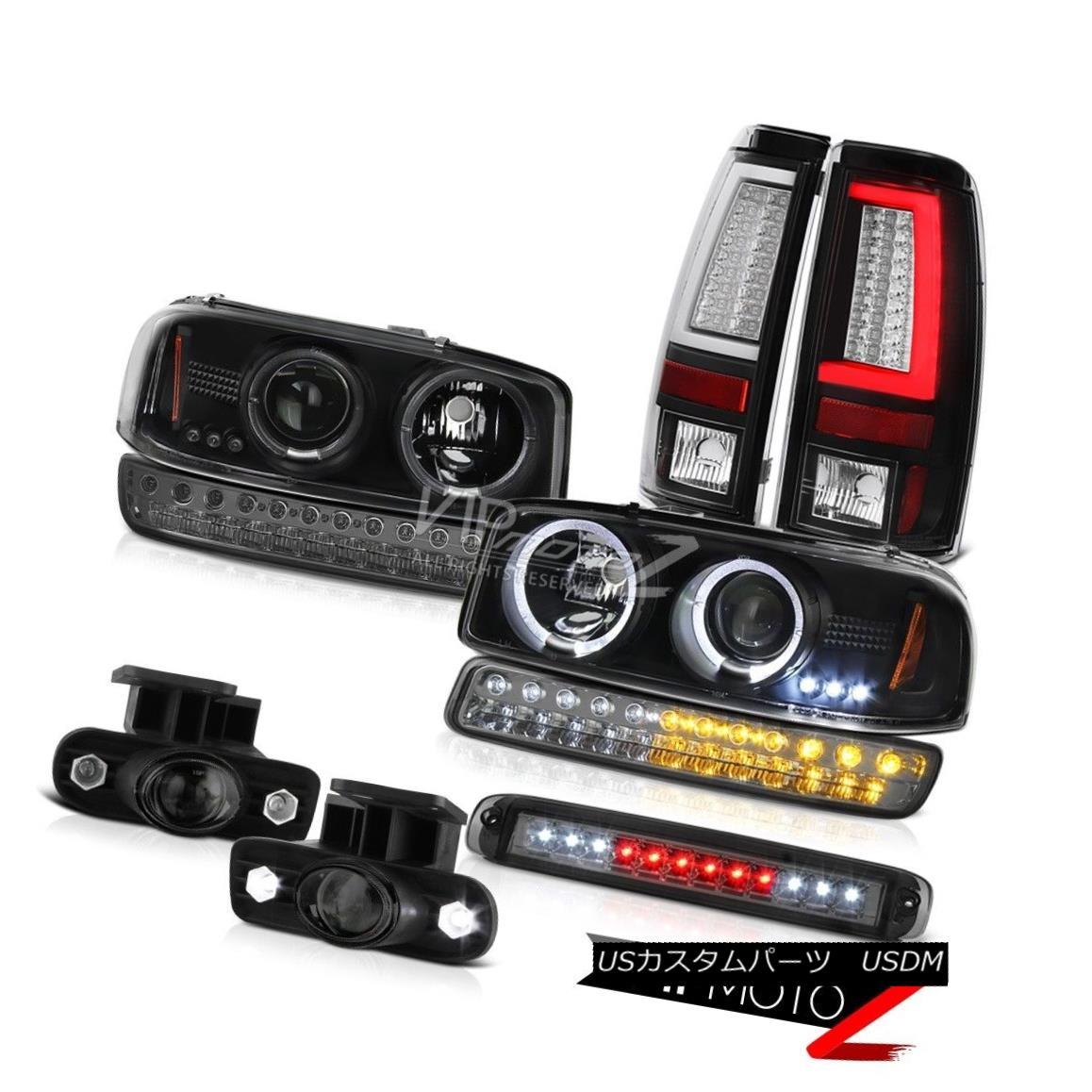 ヘッドライト 1999-2002 Sierra 1500 Taillights Roof Cargo Lamp Fog Lights Parking Headlights 1999-2002シエラ1500灯台カーゴランプフォグライトパーキングヘッドライト
