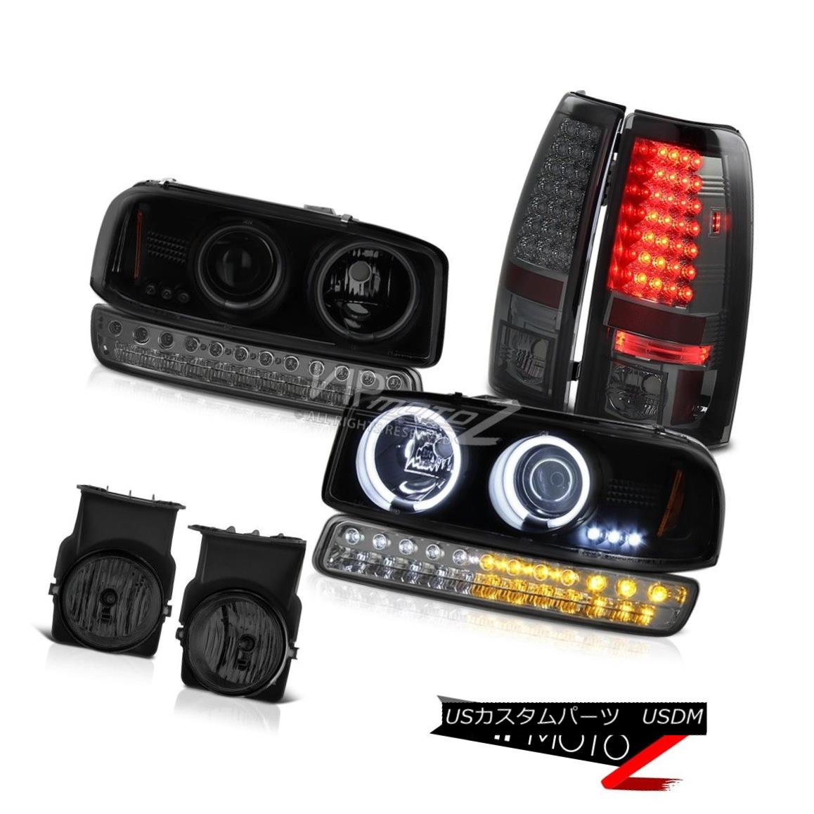 ヘッドライト 2003-2006 Sierra 6.0L Foglights SMD Tail Brake Lights Parking Light Headlamps 2003-2006 Sierra 6.0L Foglights SMDテールブレーキライトライトヘッドランプ