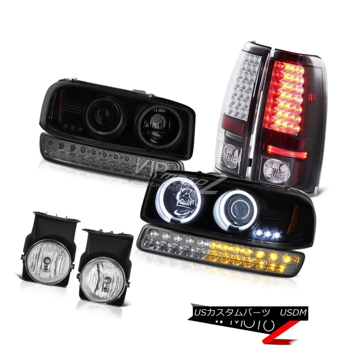 ヘッドライト 2003-2006 Sierra 1500 Fog Lamps rear LED Brake Turn Signal Projector Headlights 2003-2006 Sierra 1500フォグランプリアLEDブレーキターンシグナルプロジェクタヘッドライト