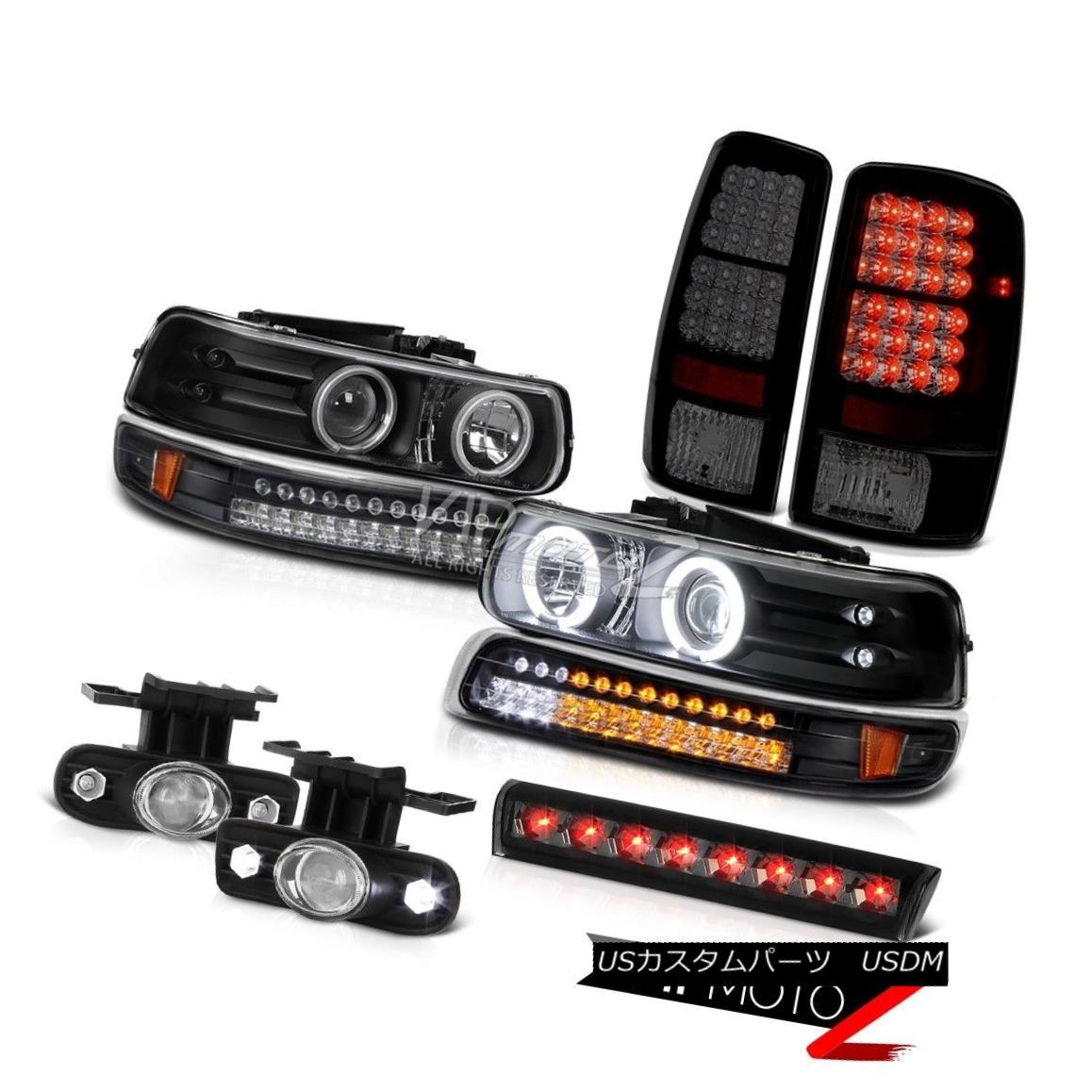 ヘッドライト 00-06 Chevy Suburban Z71 Headlights parking lamp tail lights fog roof cab Light 00-06シボレー郊外Z71ヘッドライトパーキングランプテールライトフォグルーフキャブライト