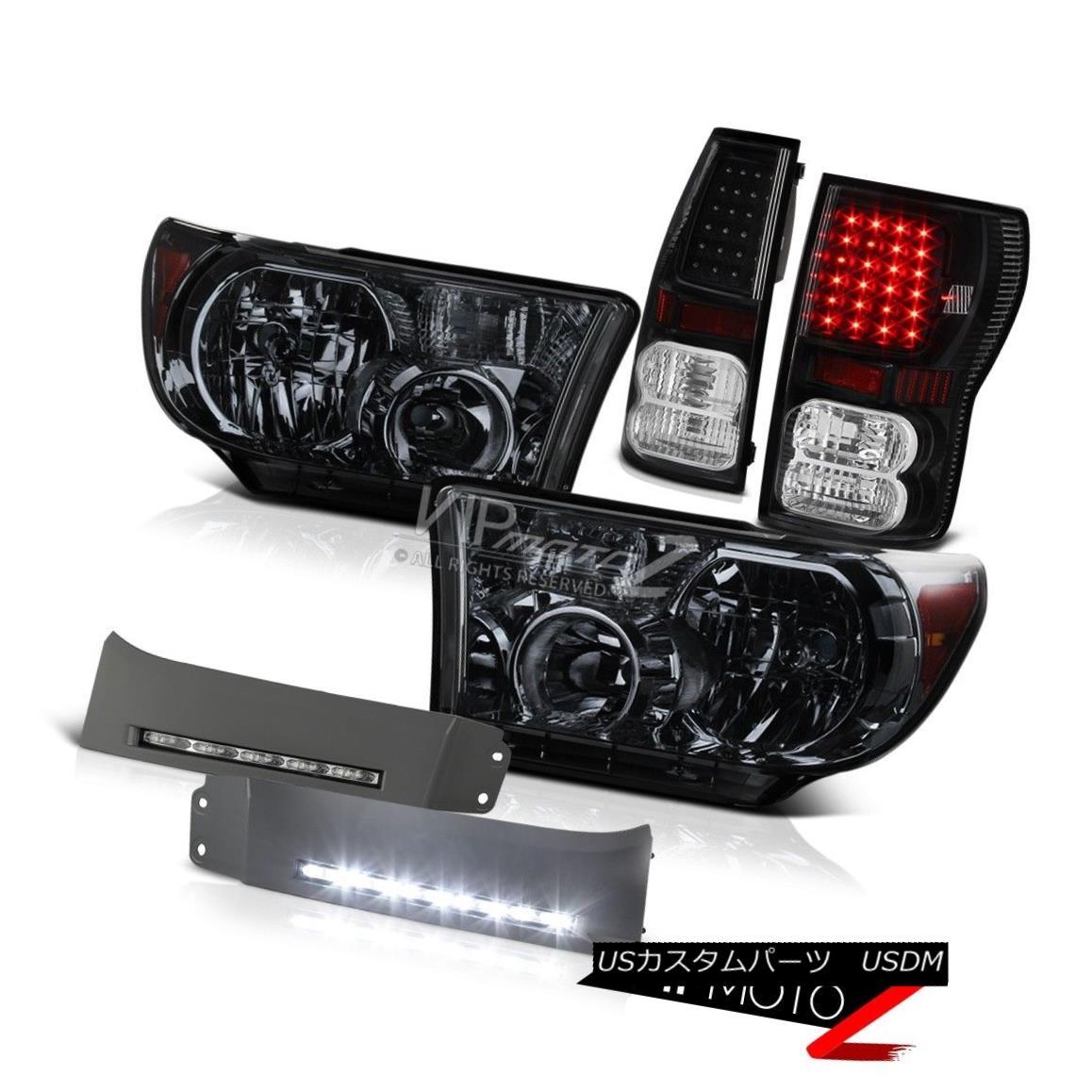 新規購入 ヘッドライト Smoke Kit 2007-13 Tundra PLATINUM BASE Smoke PLATINUM Headlight Black LED Tail Light DRL Fog Kit 2007年?13年Tundra PLATINUM BASEスモークヘッドライトブラックLEDテールライトDRL Fog Kit, ハスヌマムラ:95a315f8 --- scrabblewordsfinder.net