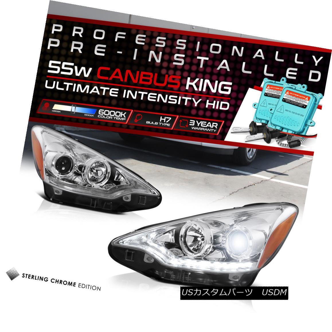 ヘッドライト [BUILT-IN HID LOW BEAM] 2012-2014 Toyota Prius C