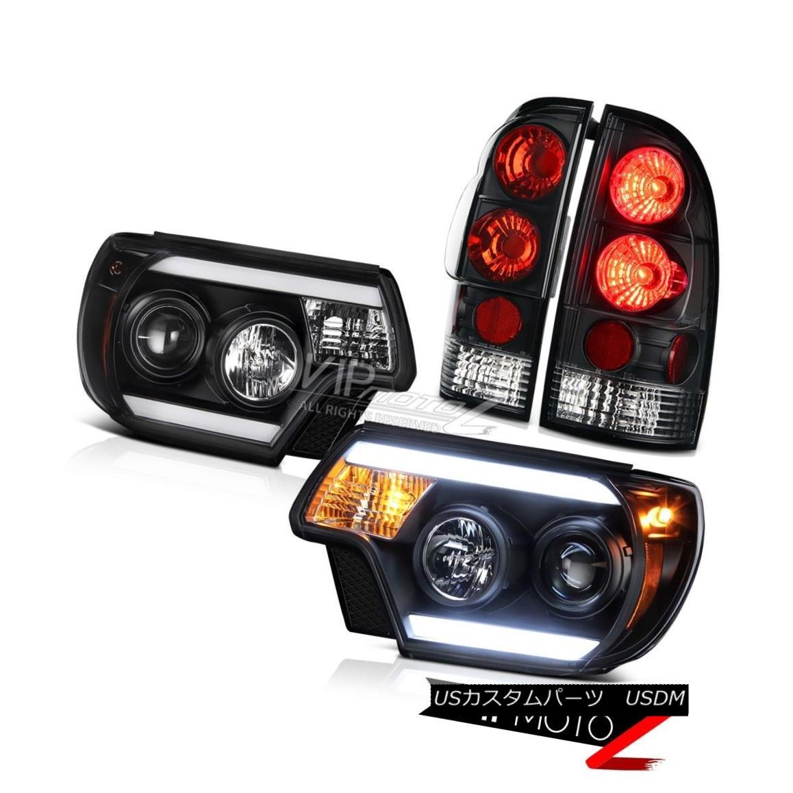 ヘッドライト 12-15 Toyota Tacoma TRD Pro Black headlamps taillamps CYCLOP OPTIC Altezza Cool 12-15トヨタタコマTRDプロブラックヘッドランプテールライトCYCLOP OPTIC Altezza Cool