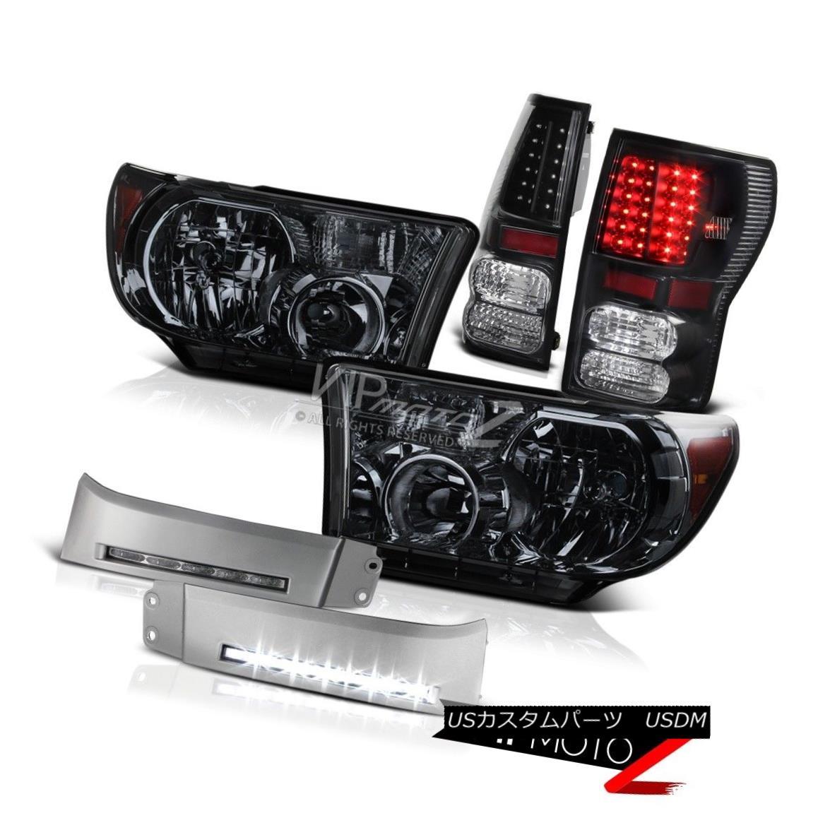 ヘッドライト 2007 2008 2009 2010 2011 2012 2013 Tundra TRD Style LED Fog Light Headlight Tail 2007年2008年2009年2010年2011年2012年2013年トンドラTRDスタイルLEDフォグライトヘッドライトテール