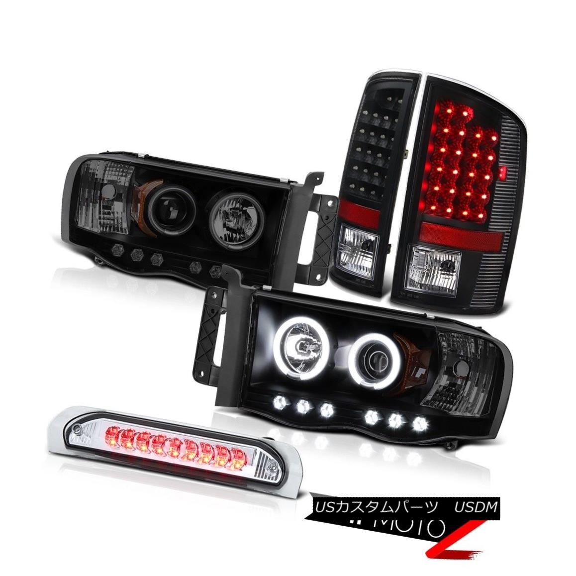 車用品 バイク用品 >> パーツ ライト ランプ ヘッドライト 2002-2005 Ram 3500 ST 入荷予定 Signal Brake CCFL Halo Tail Bright Headlight Chrome Light Haloヘッドライト信号ブレーキテールライトクローム 新色追加して再販
