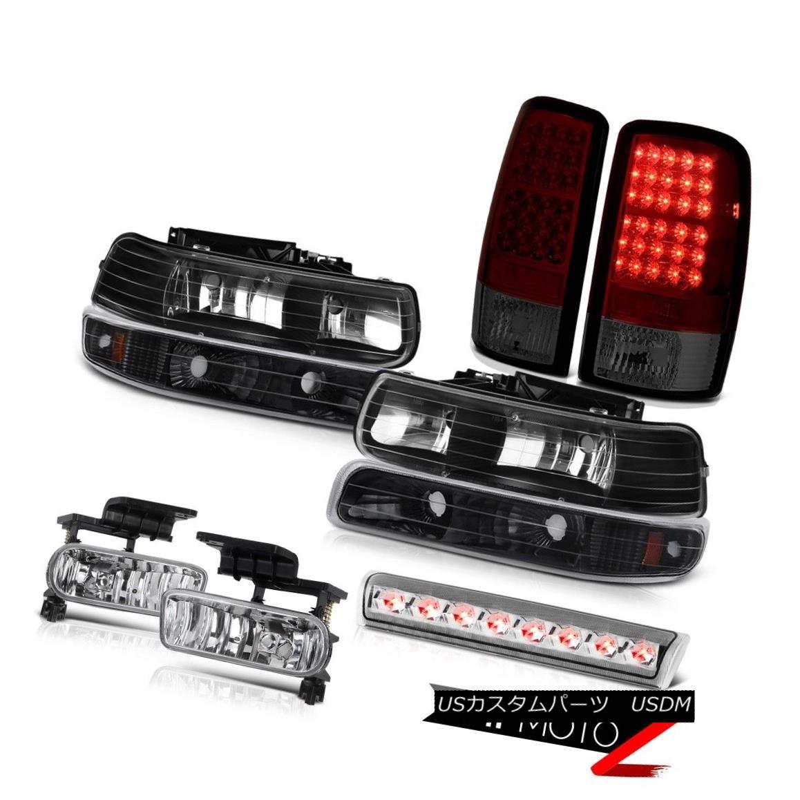 ヘッドライト 00-06 Chevy Suburban LS Headlamps rear brake lamps crystal clear fog roof Lamp 00-06シボレー郊外LSヘッドランプリアブレーキランプクリスタルクリアフォグ・ルーフランプ