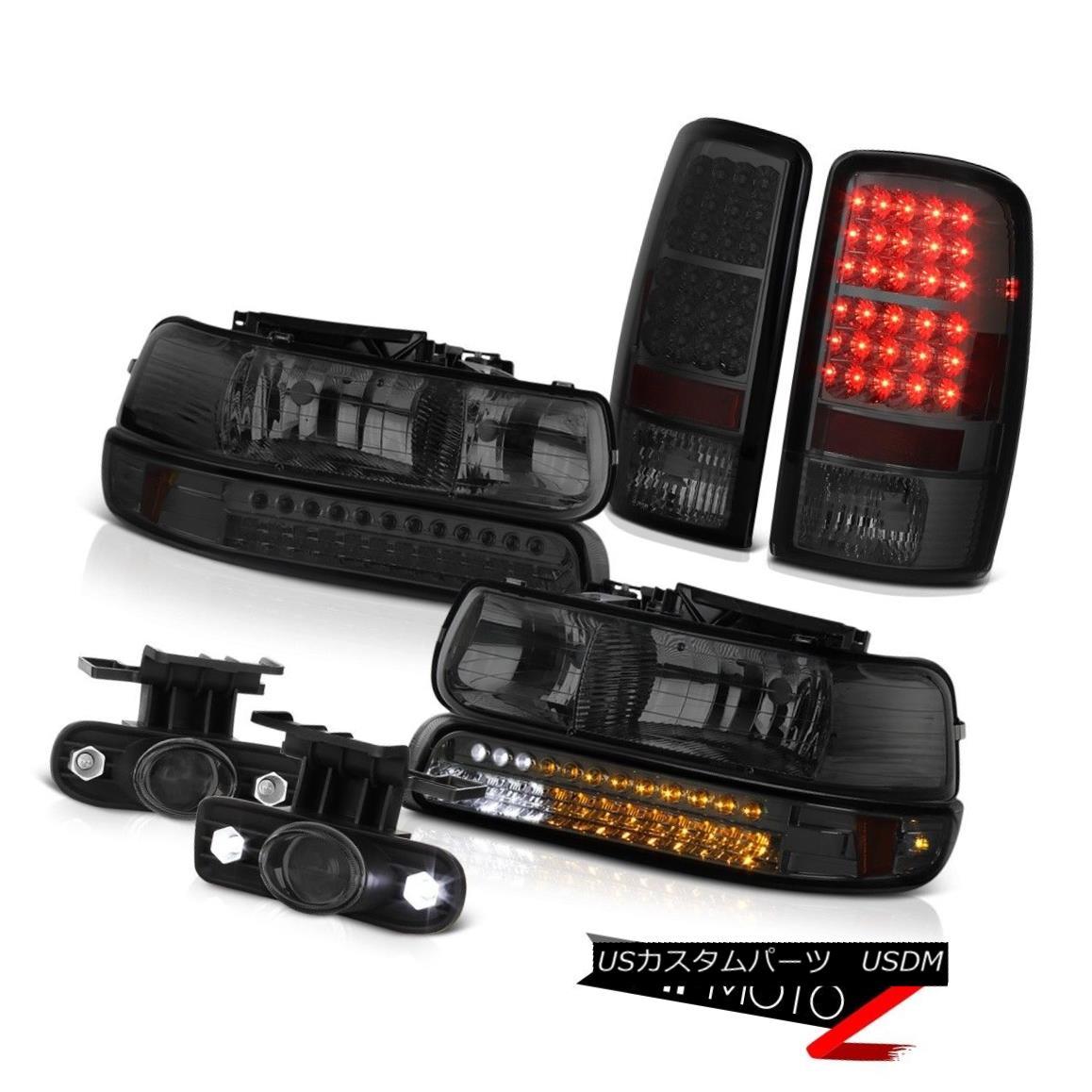 ヘッドライト 01 02 03 04 05 06 Suburban 5.7L LED Smoke Bumper+Headlamp Taillamp Projector Fog 01 02 03 04 05 06郊外5.7L LEDスモークバンパー+ヘッドラム p Taillamp Projector Fog