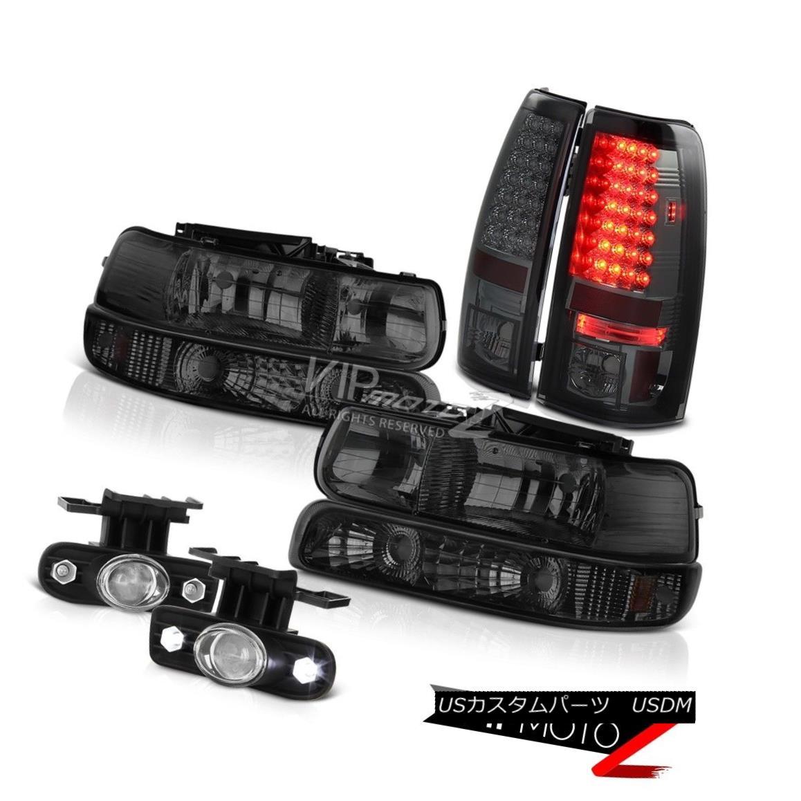 ヘッドライト 1999 2000 2001 2002 Chevy Silverado 2500HD Head Lamps Tail Light LED Foglamp 1999 2000 2001 2002 Chevy Silverado 2500HDヘッドランプテールライトLED Foglamp