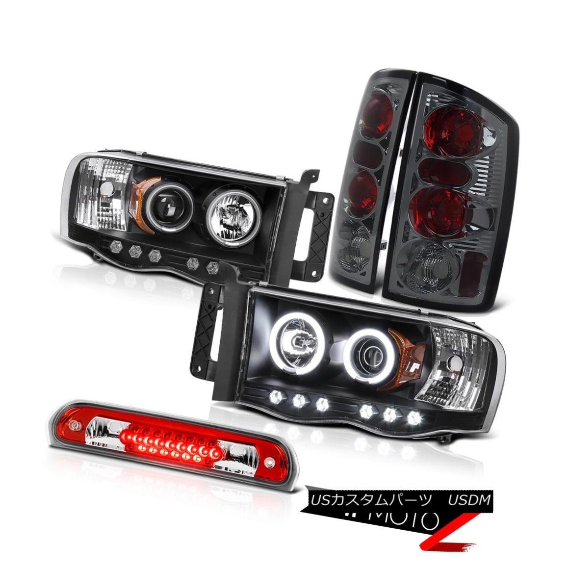 ヘッドライト Brightest Halo Headlight Brake Lamp Tail High Cargo LED 02 03 04 05 Ram Magnum 最も明るいハローヘッドライトブレーキランプテールハイカーゴLED 02 03 04 05ラムマグナム