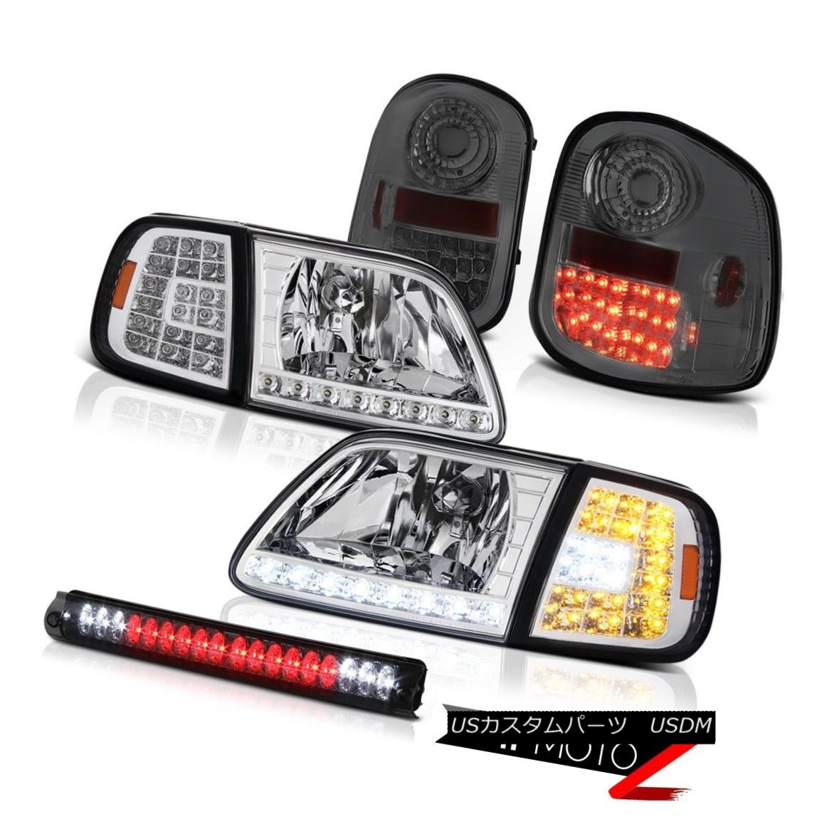 ヘッドライト Signal DRL Headlights LED Bulbs Tail Lights Roof Brake Cargo 1997-2003 F150 SVT 信号DRLヘッドライトLED電球テールライトルーフブレーキカーゴ1997-2003 F150 SVT