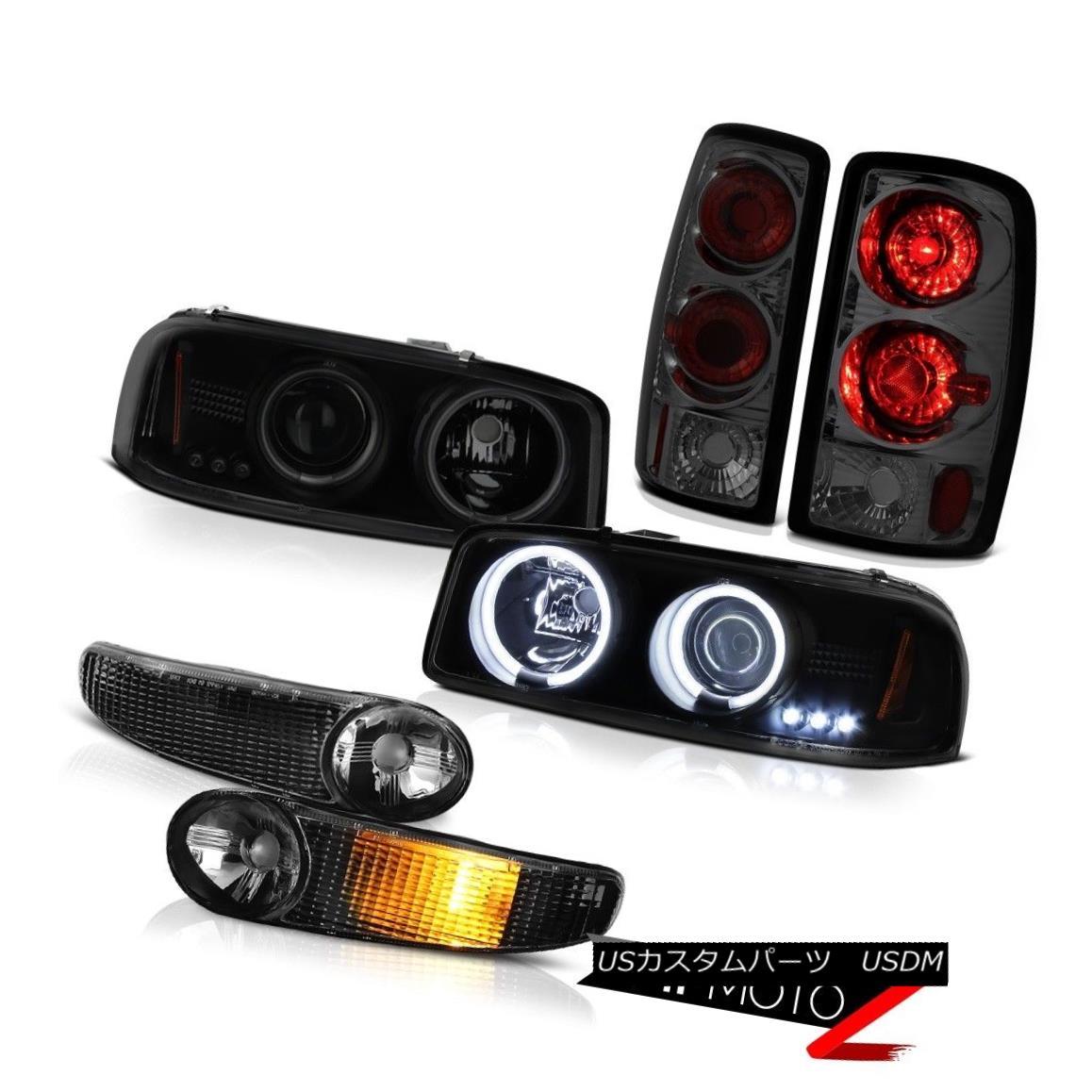 ヘッドライト Altezza Tail Lights 00-06 Yukon Denali Bright CCFL Halo Headlights Signal Bumper Altezza Tail Lights 00-06ユーコンデナリブライトCCFL Haloヘッドライトシグナルバンパー
