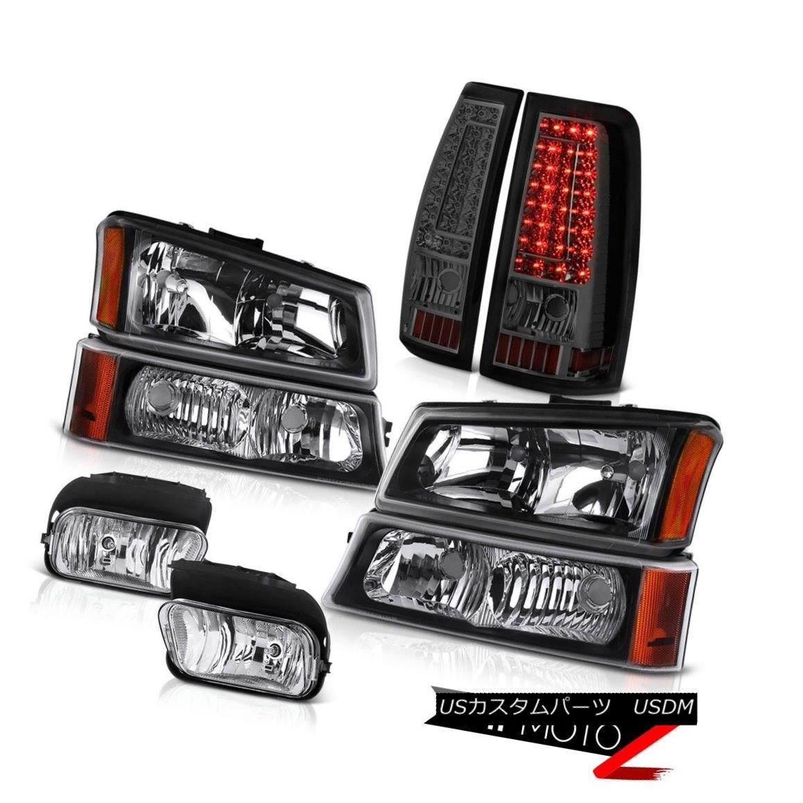 ヘッドライト 03 04 05 06 Silverado 1500 Chrome Fog Lights Taillights Bumper Lamp Headlights 03 04 05 06 Silverado 1500クロームフォグライトテールライトバンパーランプヘッドライト
