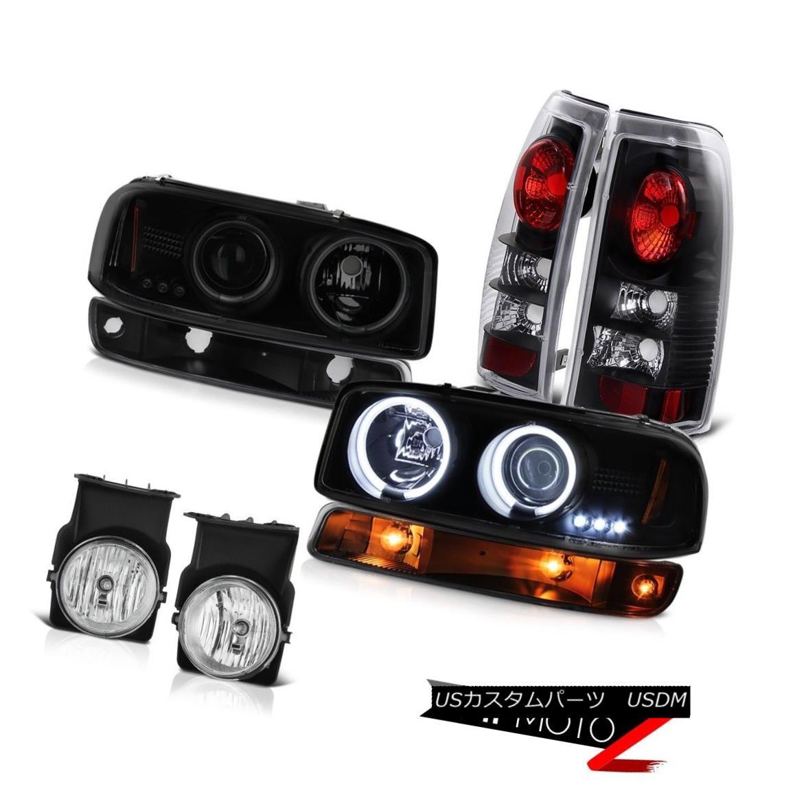 ヘッドライト 03-06 Sierra 4.3L Foglamps taillights parking lamp smoke tinted headlights LED 03-06シエラ4.3Lフォグランプテールライトパーキングランプ煙がかかったヘッドライトLED