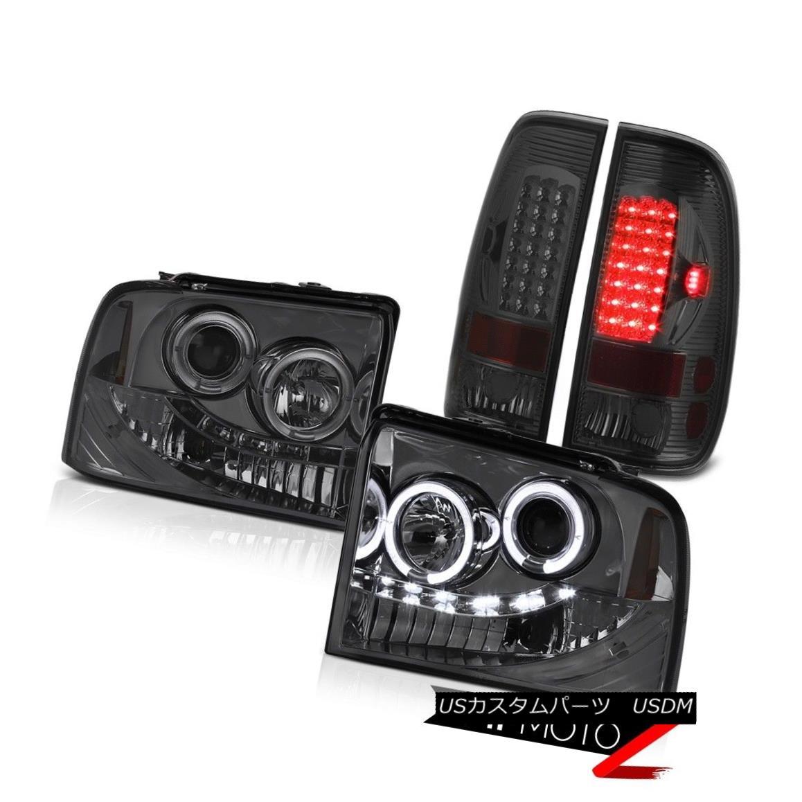 ヘッドライト LED Projector Headlight Dark Smoke