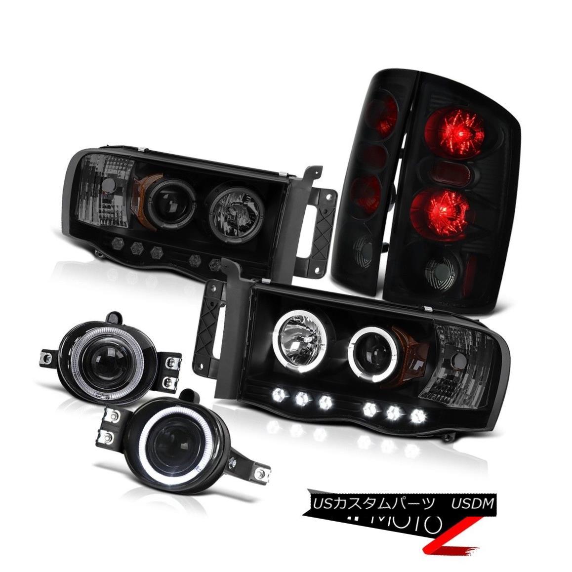 ヘッドライト 2002-2005 Ram Turbo Diesel SLT LED Daytime Headlight Reverse Signal Tail Lights 2002 - 2005年ラムターボディーゼルSLT LED昼間ヘッドライト逆信号テールライト