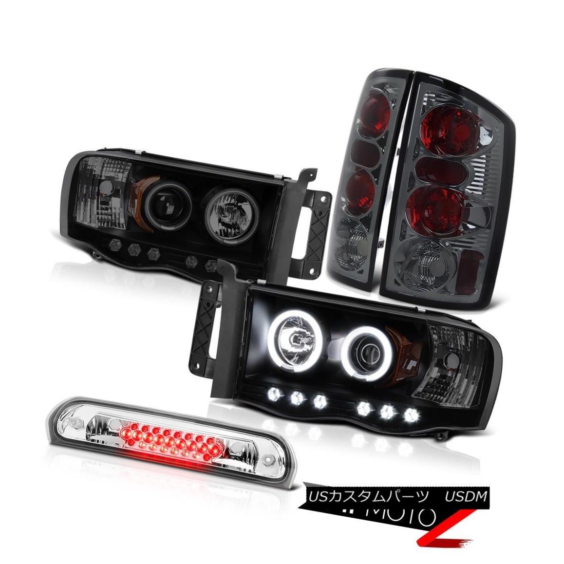 ヘッドライト *CCFL* Headlights DRL Tinted Taillights Euro Third LED 2002-2005 Ram TurboDiesel * CCFL *ヘッドライトDRLティンテッドティアライトユーロサードLED 2002-2005ラムターボディーゼル