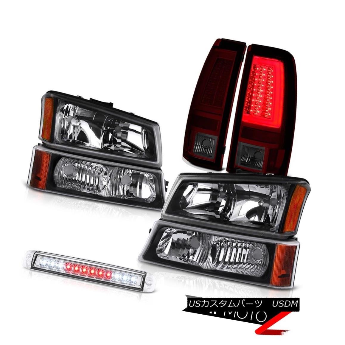 ヘッドライト 03 04 05 06 Silverado 1500 Tail Lamps Roof Cab Light Bumper Headlights Tron Tube 03 04 05 06 Silverado 1500テールランプルーフキャブライトバンパーヘッドライトTron Tube
